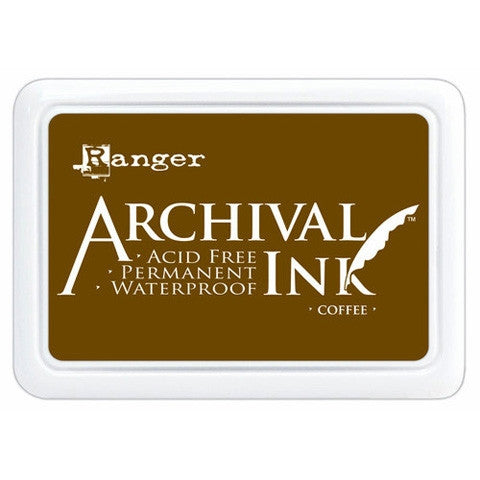 Ranger Archival Ink Pad, Coffee