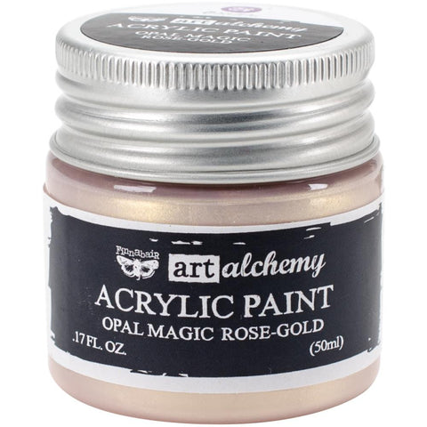 Prima Art Alchemy Acrylic Paint, Opal Magic Rose-Gold