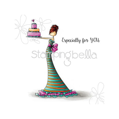 Stamping Bella - Brittany The Birthday Girl Stamp