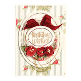 Spellbinders - Chantilly Paper Lace, Hemstitch Ovals