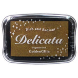 Delicata Ink Pad - Golden Glitz