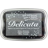 Delicata Ink Pad - Silvery Shimmer
