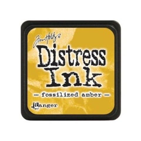 Tim Holtz - Mini Distress Ink Pad, Fossilized Amber