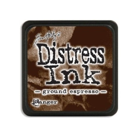 Tim Holtz - Mini Distress Ink Pad, Ground Espresso