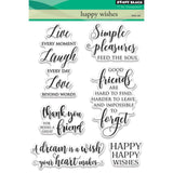 Penny Black - Happy Wishes stamp set