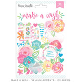 Cocoa Vanilla Studio - Make A Wish, Vellum Accents