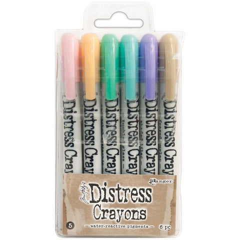 Tim Holtz Crayon Set #5