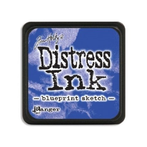 Tim Holtz - Mini Distress Ink Pad, Blueprint Sketch