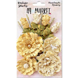 49 and Market - Vintage Shades, Yellow Bouquet