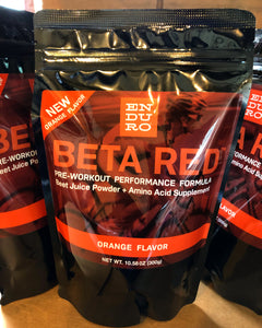 Spotlight: Beta Red Pre-Workout Orange