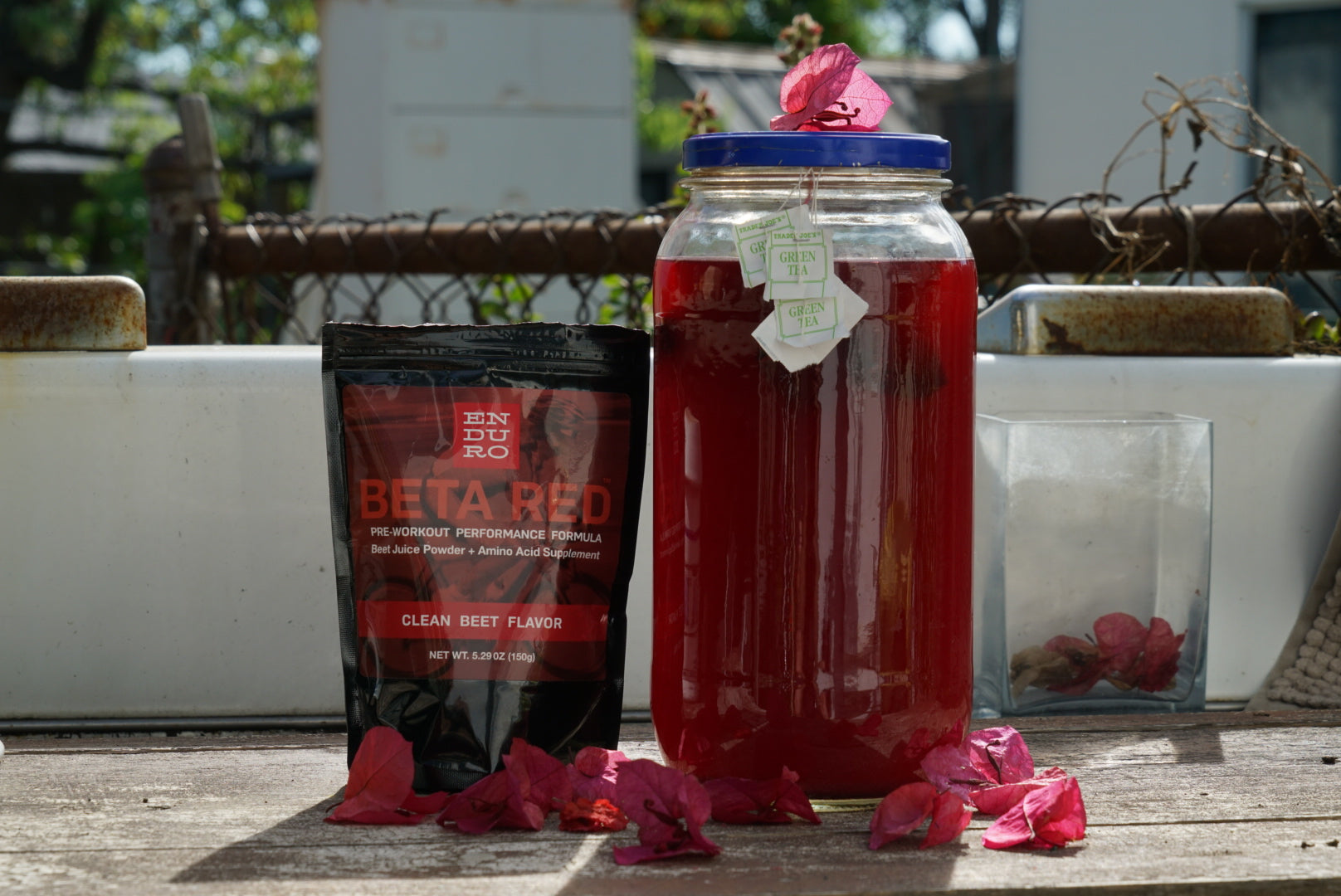 Peter Maksimow's Beta Red Green Sun Tea