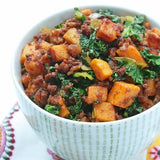 Chorizo with Sweet Potatoes and Kale Recipe