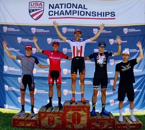 Payson McElveen Marathon MTB Nationals Podium