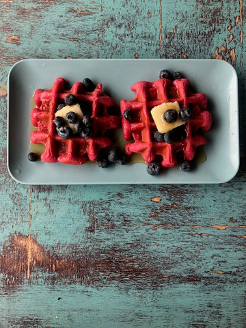 Waffle Recipe with Beta Red Pre-Workout Formula