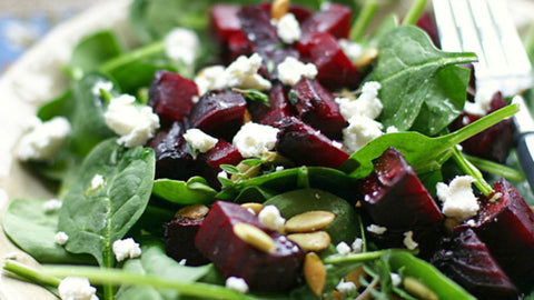 Brian's Spinach and Beet Salad