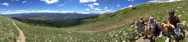 Altitude Training Above Breckenridge