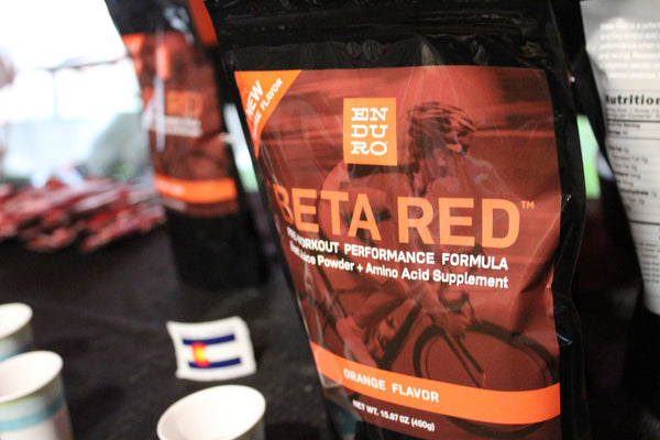 Beta Red Orange at Pikes Peak Marathon