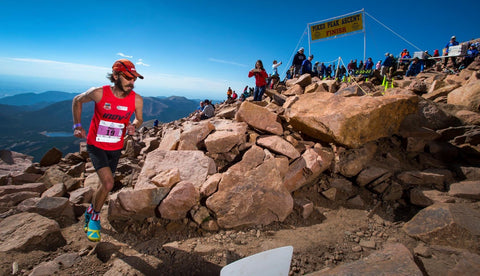 Running Pikes Peak