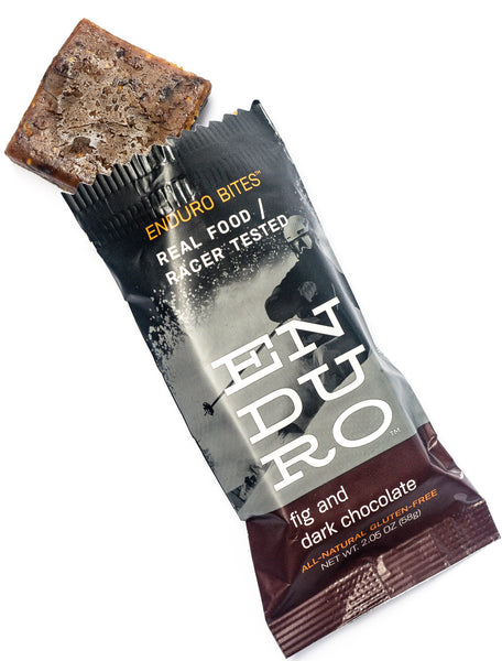 Enduro Bites Fig and Dark Chocolate - Enduro Bites Sports Nutrition