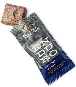 Enduro Bites Cinnamon Blueberry - Enduro Bites Sports Nutrition