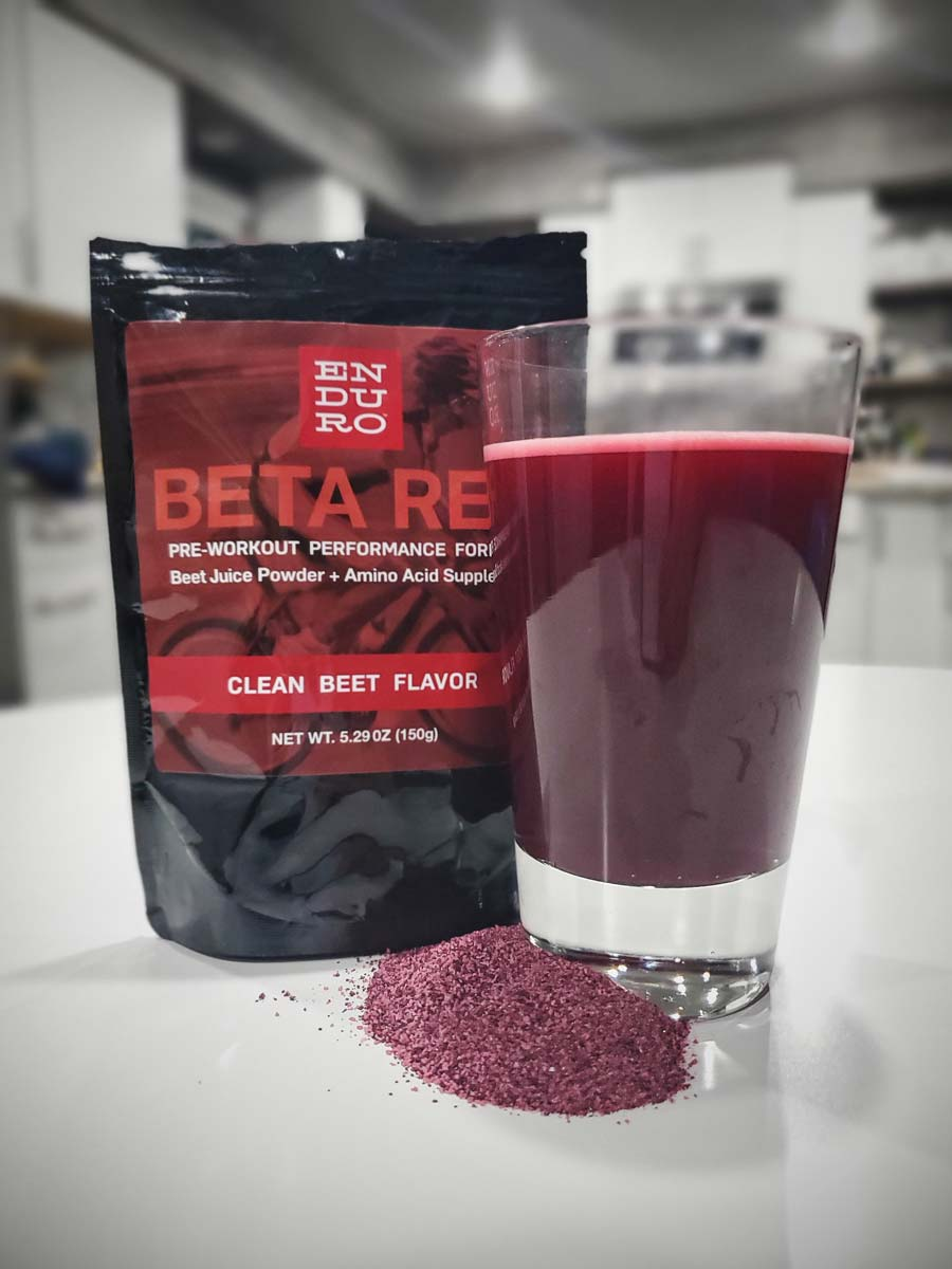 Beta Red Pre-Workout Formula for Endurance Athletes - Enduro Bites Sports Nutrition