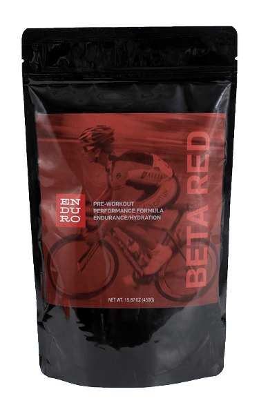 Beta Red Pre-Workout Formula (for cycling, triathlon, and running) - Enduro Bites Sports Nutrition
