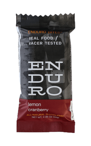Enduro Bites Lemon Cranberry - Enduro Bites Sports Nutrition