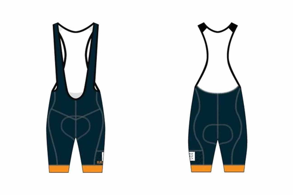 Enduro Bites Laguna Seca Bib Short Made by Eliel - Enduro Bites Sports Nutrition