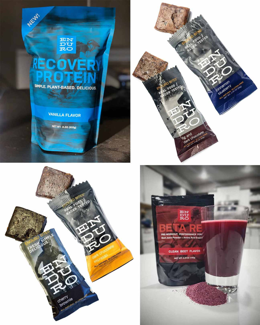 Before, During, After Workout Bundle - Enduro Bites Sports Nutrition