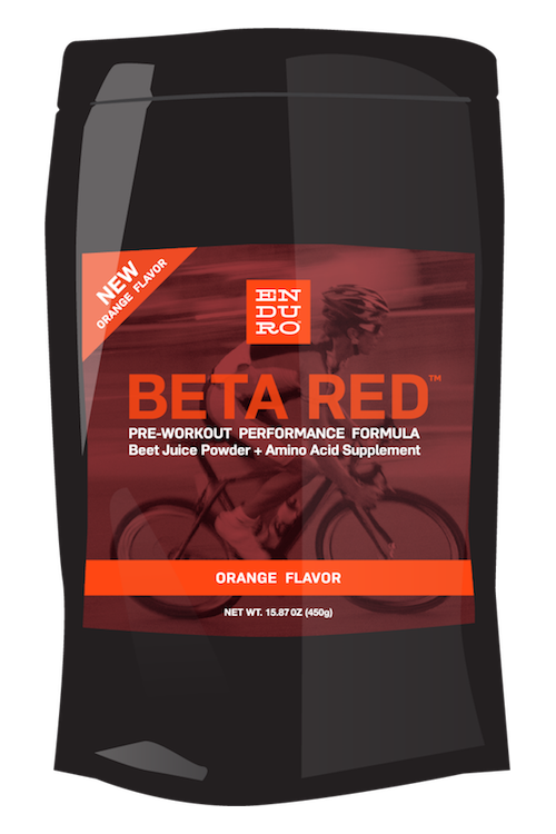 Beta Red Orange Pre-Workout Formula - Enduro Bites Sports Nutrition
