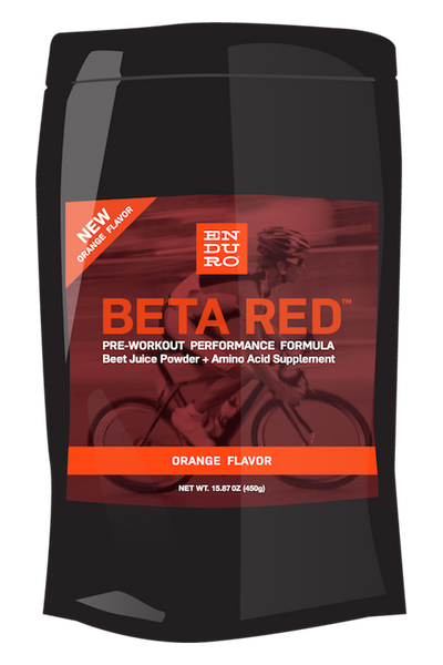 Beta Red Performance Formula — NEW ORANGE Flavor! - Enduro Bites Sports Nutrition
