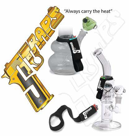 Straps Lighter Leash for Hookah or Glass Pipe