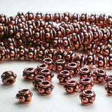 5mm Genuine Copper Spacer Beads 40 pcs. GC-293