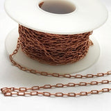 Soldered Copper Fine Drawn Cable Chain Bulk Unfinished Chain GCC-123-B