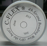 C-Flex 49 Strand Beading Wire Medium .015 30 Feet
