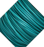 Round Turquoise Leather Cord 2mm 5 Meters