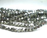 6mm Faceted Pyrite Nugget Beads Pyrite Beads 25 pcs. - Royal Metals Jewelry Supply