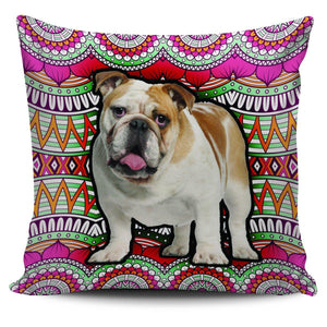 Boho Bulldog Pillowcase