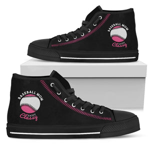 Baseball Mom High Top