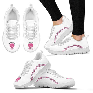Baseball Mom Sneakers (White)