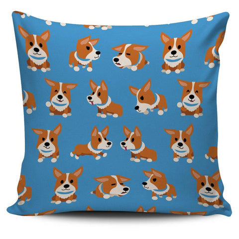 Corgies Pillow Case