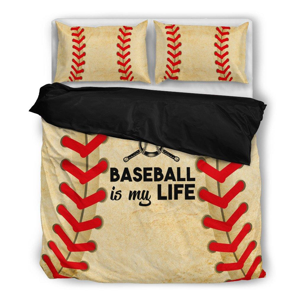 Baseball is my Life Bedding