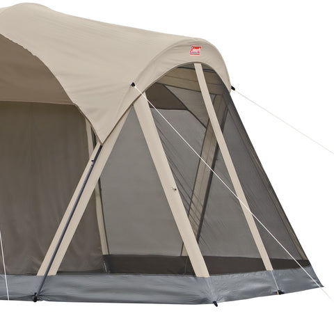 Image of COLEMAN WEATHERMASTER 10 TENT 17X9 FT BRWN/TAN/BL