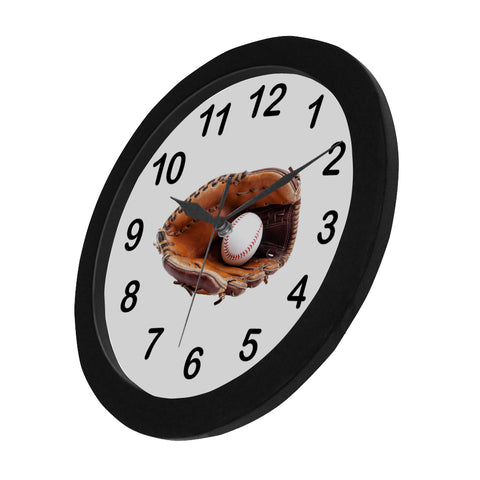 Image of Glove and Ball Clock