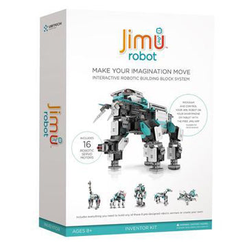 UBTECH ROBOT JR1602 JIMU INVENTOR KIT INTERACTIVE ROBOTIC BUILDING BLOCK SYSTEM RETAIL