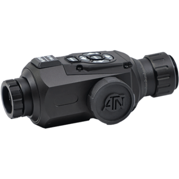 Image of ATN CORPORATION OTS HD THERMAL MONOCULAR 1.25-5X, 19MM 384X288, MATTE BLACK