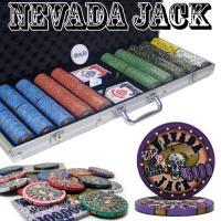 PRE-PACKAGED - 500 CT NEVADA JACK 10G HI GLOSS CHIP SET