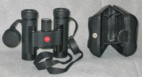 Image of Leica Sport Optics Ultravid Pocket Size, Compact Binocular 10x25mm, Black leather