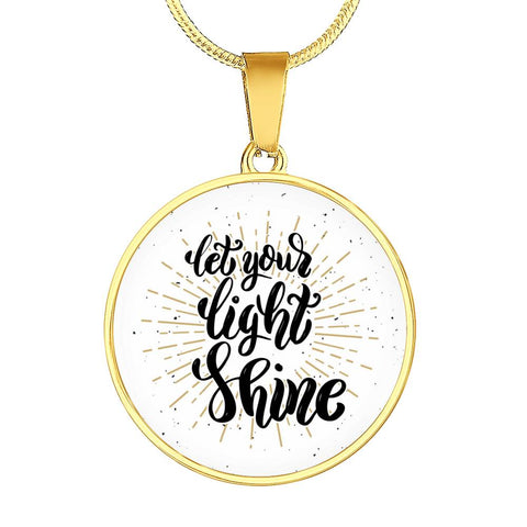 Image of Shine Circle Pendant