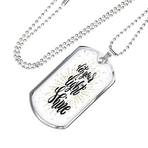 Shine Dog tag